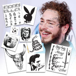 Post Malone Temporary Tattoos