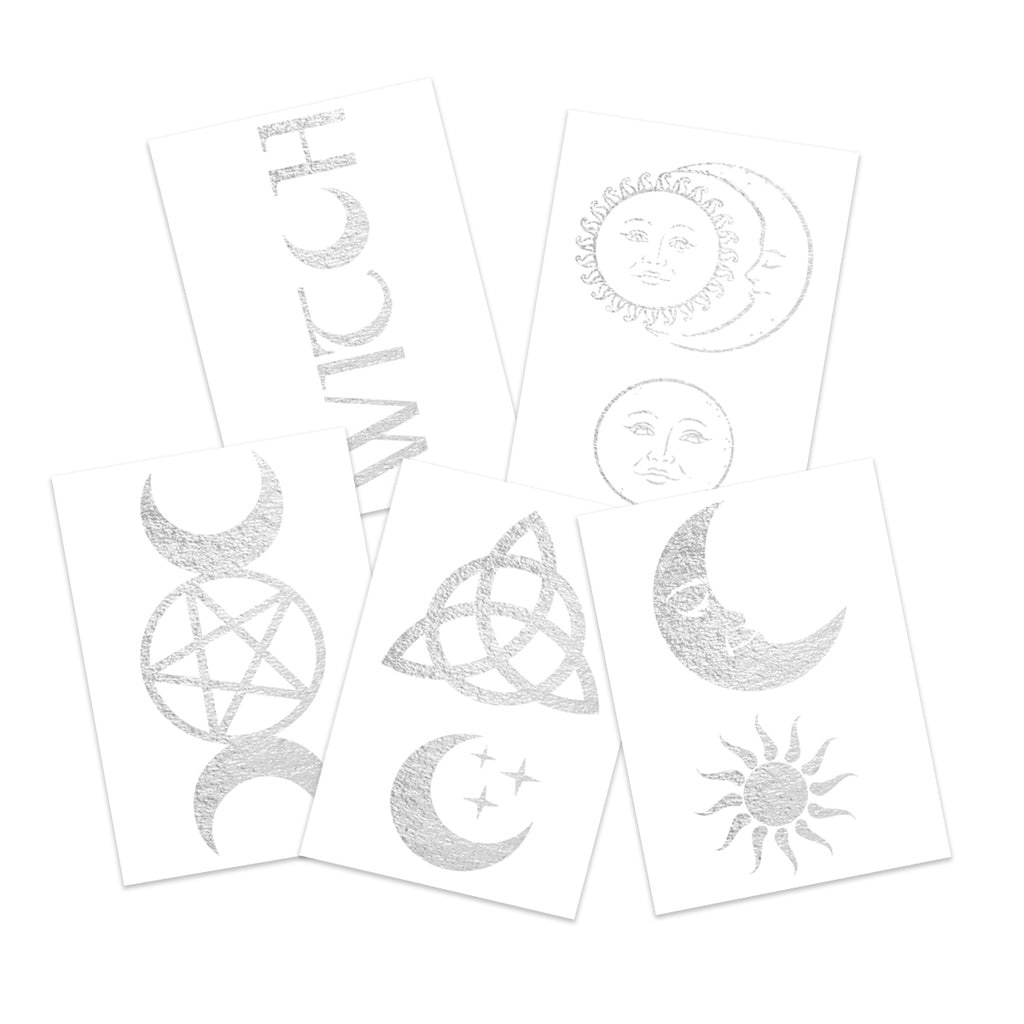 Witchy Celestial Silver Pack