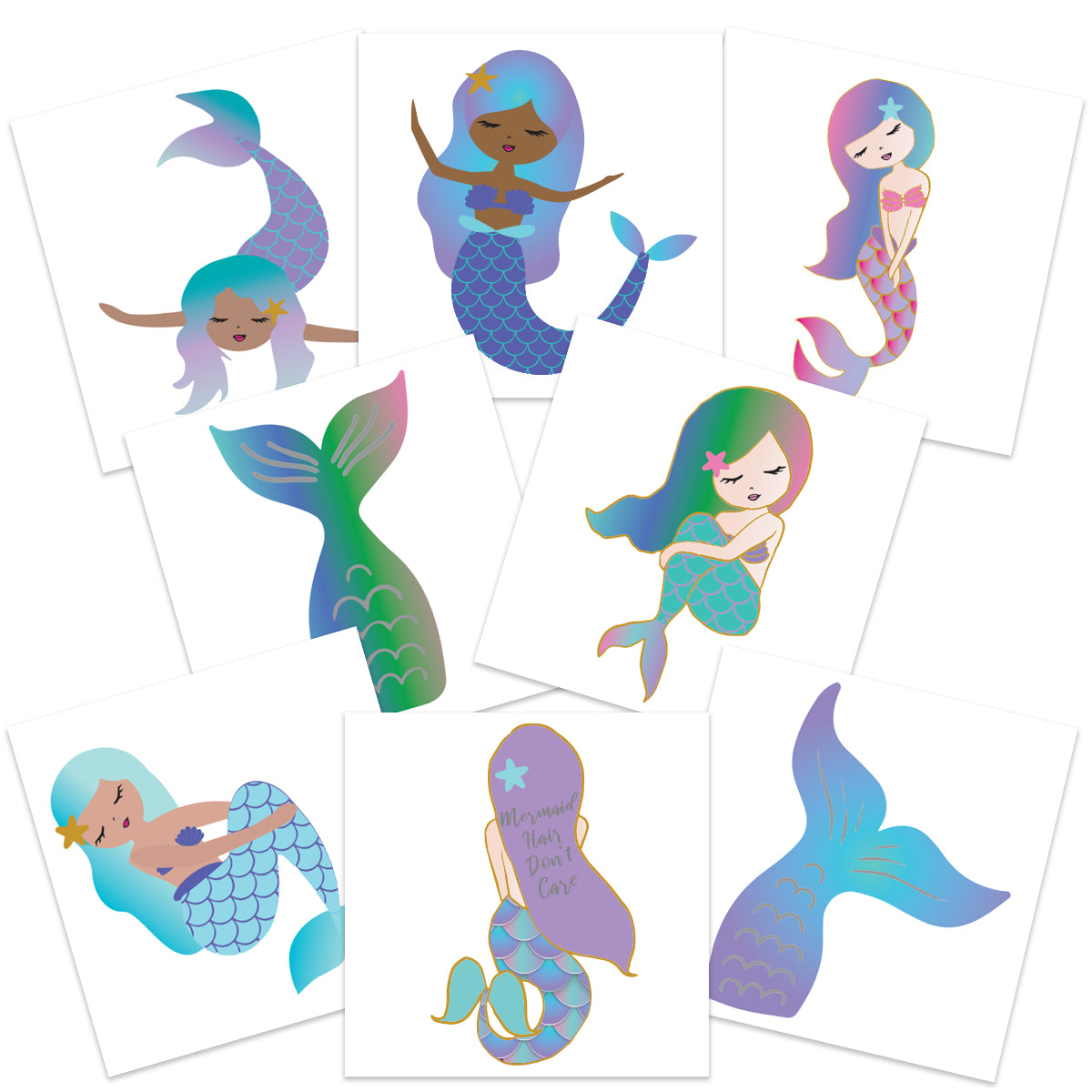 Young Mermaid Party Pack (24-Pack)