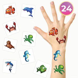 Sea Animals Party Pack (24-Pack)