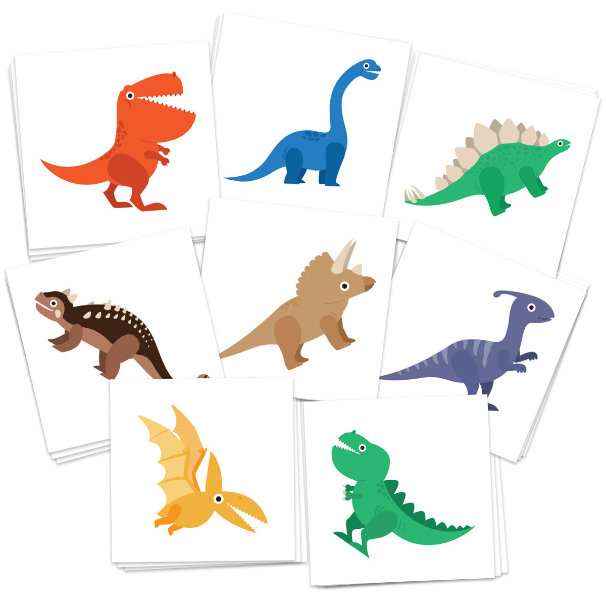 Dinosaur Temporary Tattoos