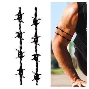 Barbed Wire Armbands (3-Pack)