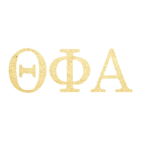 Theta Phi Alpha-Letters-(10 Pack)