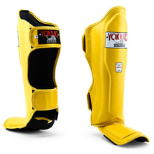 Load image into Gallery viewer, Matrix Gold Fusion Shin Guards