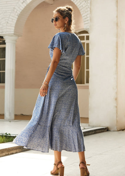 women-v-neck-floral-ditsy-maxi-dress-wrap-ruffled-august-lemonade