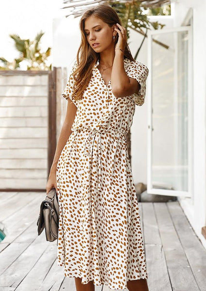 white-floral-animal-print-midi-dress-outfit