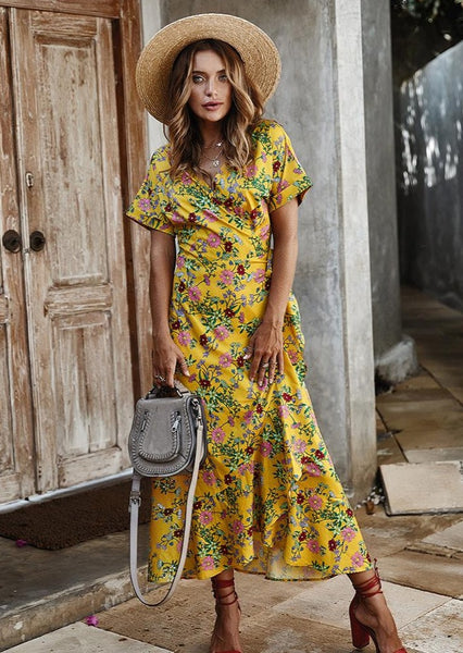 women-midi-dress-floral-wrap-front-august-lemonade