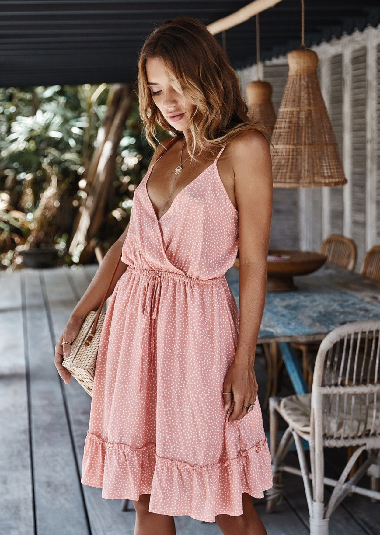 Light Up My Life Dress Pink