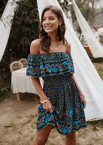 Tropic State Of Mind Dress NAVY