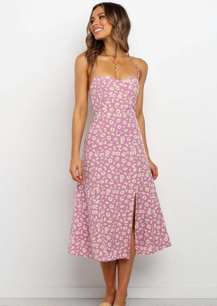 All Time Low Midi Dress