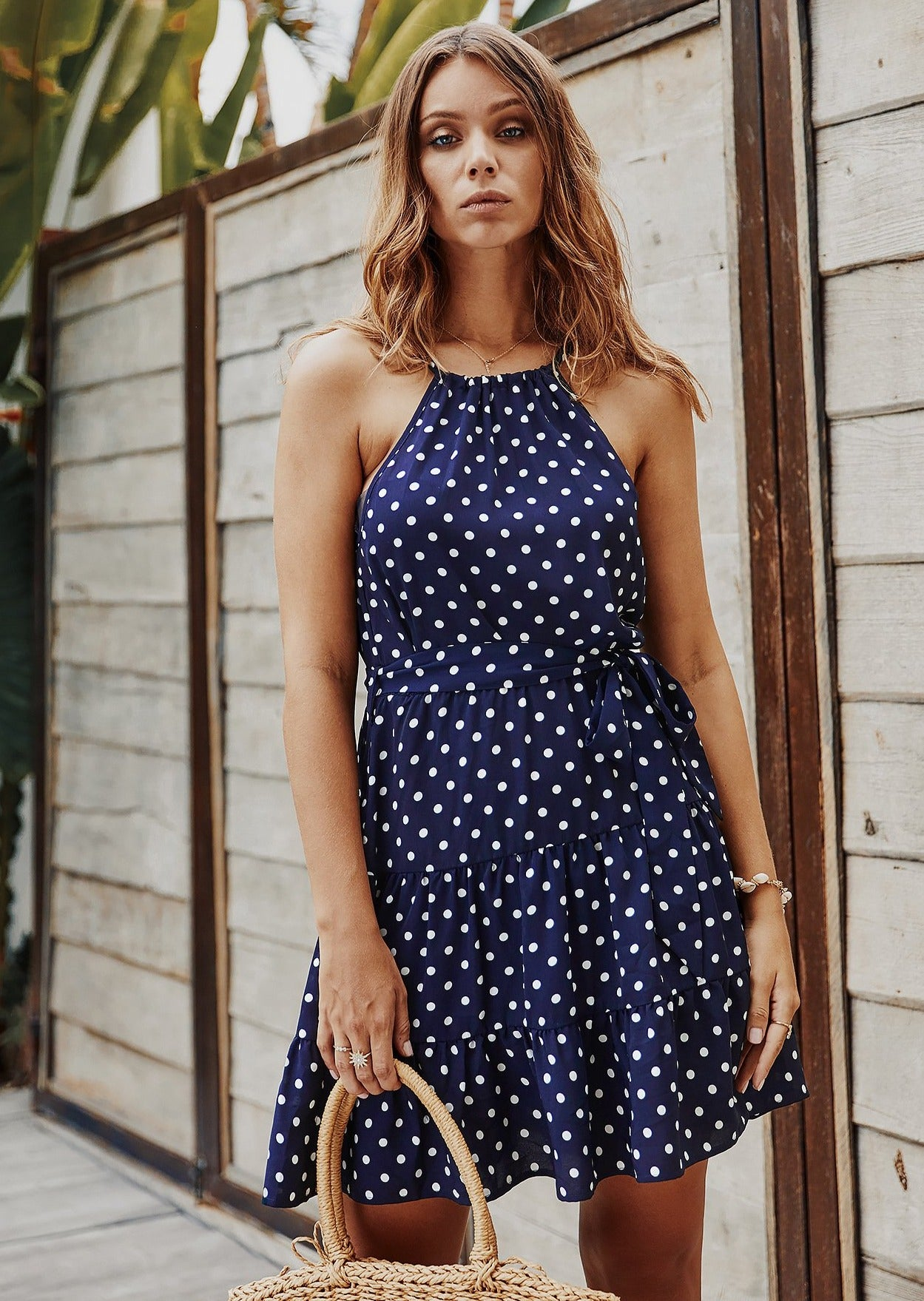Golden Hour Mini Dress NAVY