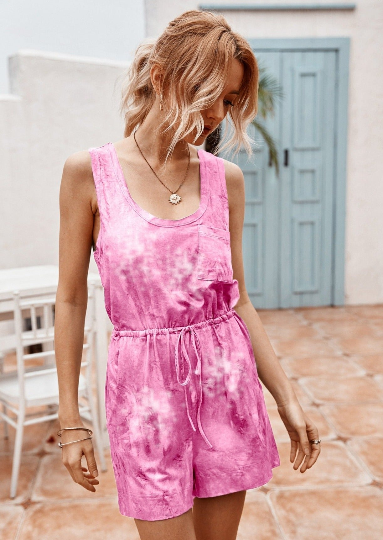 You're My Sweetie Playsuit PINK