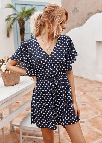 women-v-neck-floral-playsuit-casual
