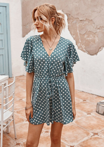 Mysteria Playsuit GREEN