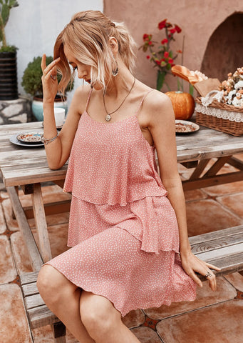 Crash Into Me Dress PINK
