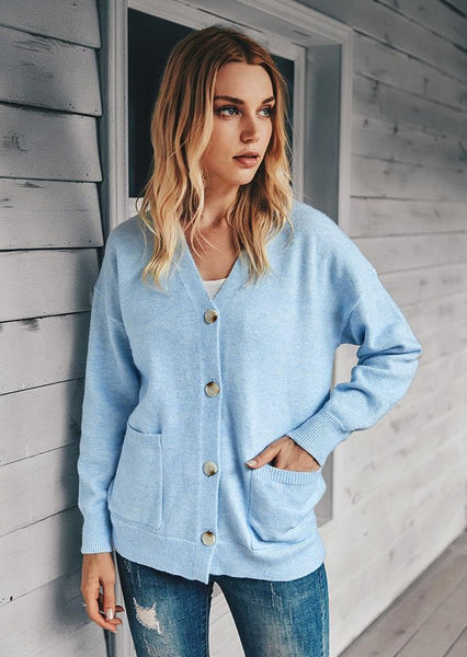 Cute Casual Cardigan August Lemonade