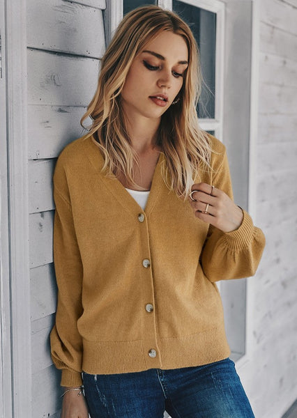 Sweet Love Casual Cardigan 5 Colors