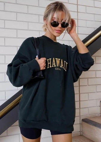 Hawaii Printed Sweatshirt SHOP