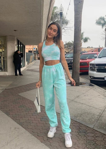 Cool For Summer Tie Dye Tracksuit Set