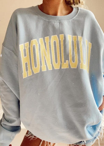 Honolulu Sweatshirt GREY