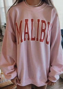 Shop For Malibu Vintage Basic Sweatshirt