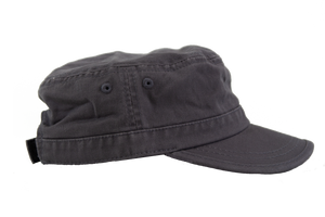 Gray Army Hat