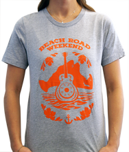 Load image into Gallery viewer, Unisex Gray/Orange Lineup Shirt