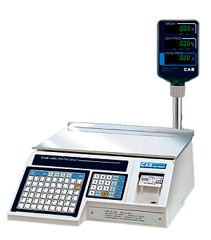 Label Printing Scale - With Pole