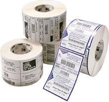 "Zebra Thermal Paper Labels- 2.25x2"" (12 Rolls/Case)"