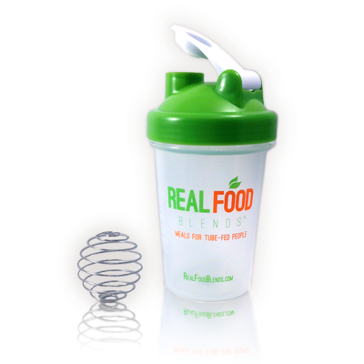 Real Food Blends Blender Bottle
