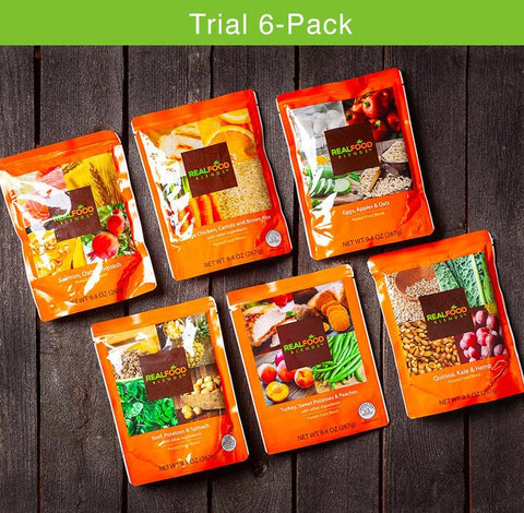 Trial Pack (1 of each meal - 6 meals total)