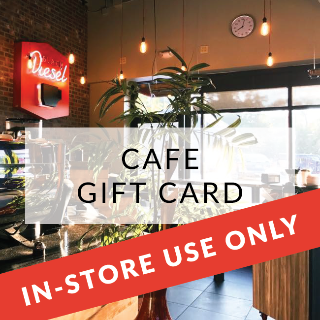 Cafe Gift Card [CAFE REDEEM ONLY]
