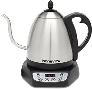 Bonavita 1.0L Gooseneck Variable Temperature Kettle
