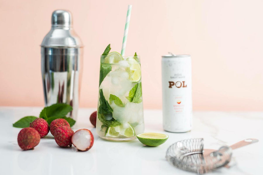 Lychee Sparkling Coconut Water