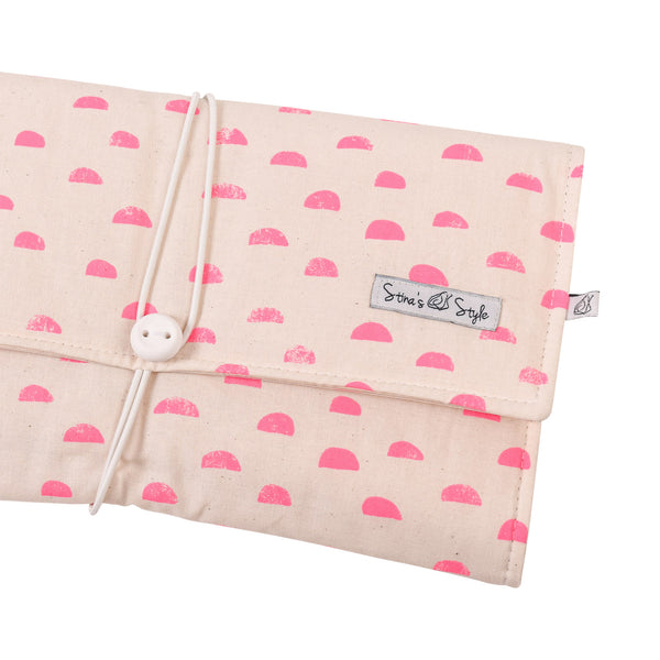 Nappy Wallets -Neon Pink Fleck