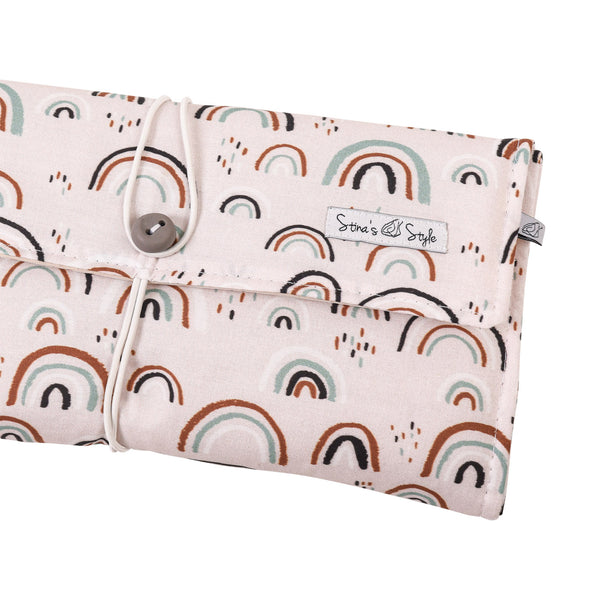 Nappy Wallets - Pink Rainbow