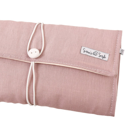 Nappy Wallets - Blush linen
