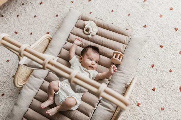 'Not Quite Perfect' Rattan Play Gym Bar