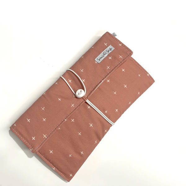 Nappy Wallets - Rust crosses