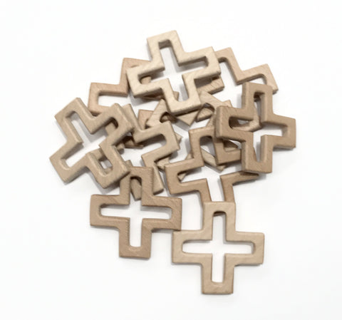 Wooden Teething Cross