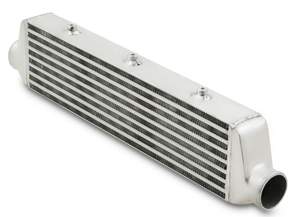 Narrow Universal Front Mount Intercooler - 550x140x65mm Core Size (63mm Inlet/Outlet)