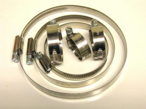 Hose Clamps - Stainless Steel (W4)