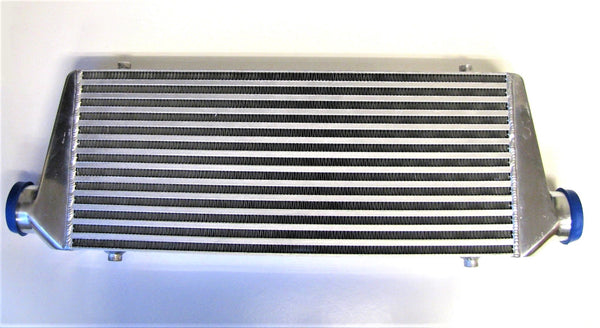 Slim Universal Front Mount Intercooler - 550x230x65mm Core Size (63mm Inlet/Outlet)