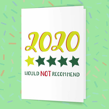 2020 One Star Review Card