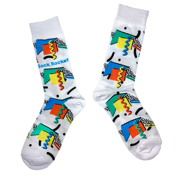 Sock Rocket Retro 90's Socks