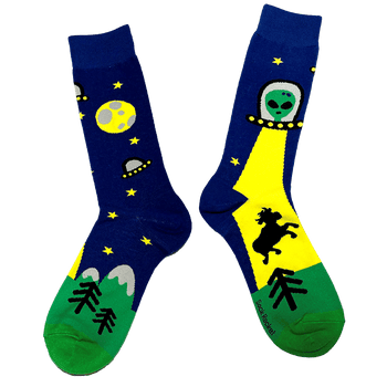 Sock Rocket Alien Socks