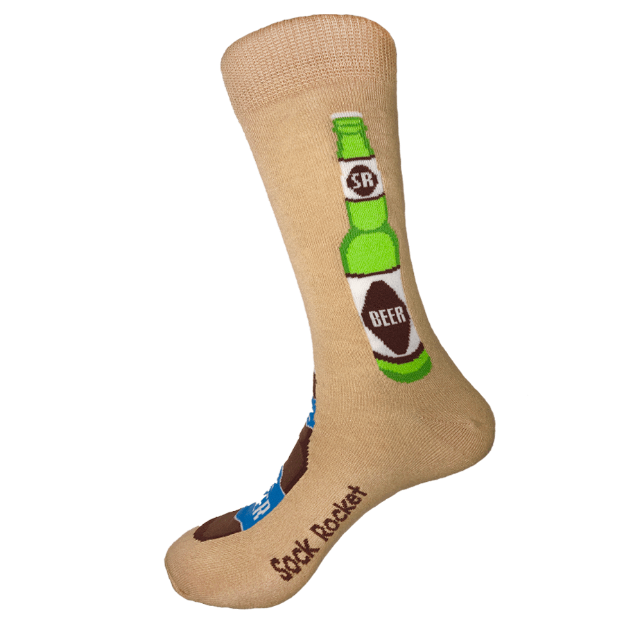 Sock Rocket Beer Bottle Socks