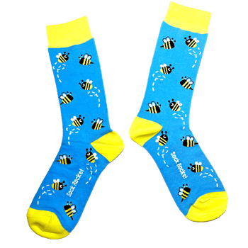 Sock Rocket Honey Bee Socks