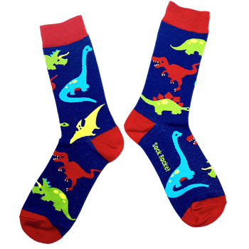 Sock Rocket Dinosaur Socks