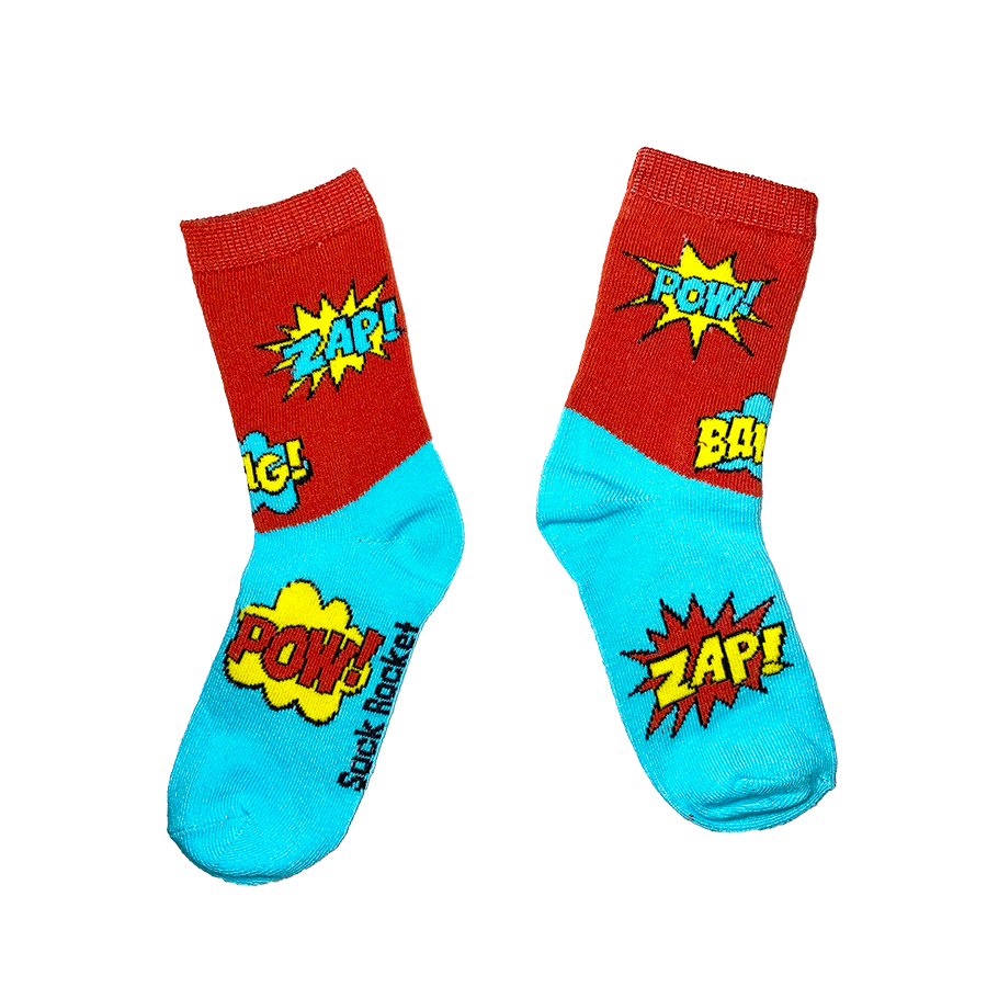 Kids Comic Socks